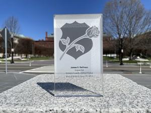 Memorial Plaque In Memoriam